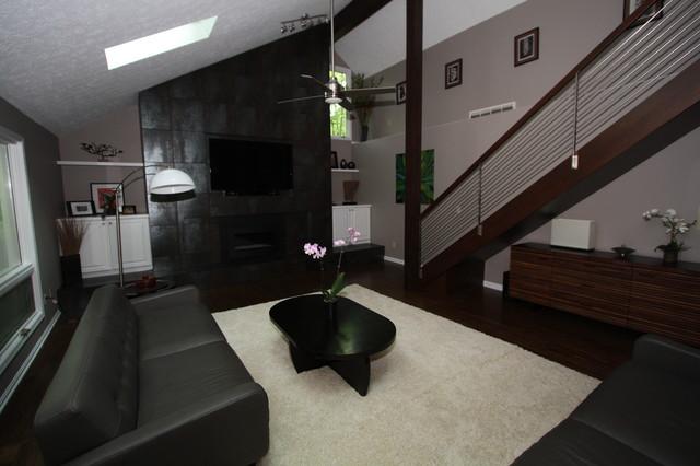 Medina Home Remodel contemporary-living-room