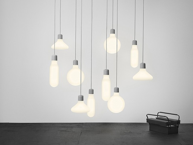 Form Pendant Lights, Form Us With Love for Design House Stockholm contemporary-pendant-lighting