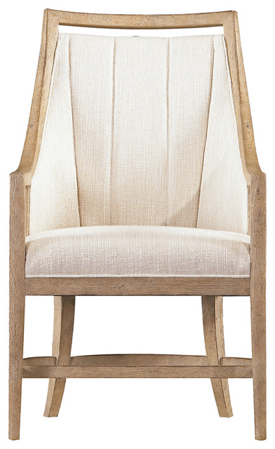 Coastal By The Bay Host Chair Weathered Pier Finish