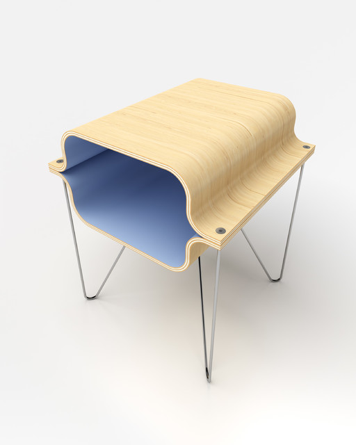 Bent Plywood midcentury-side-tables-and-end-tables