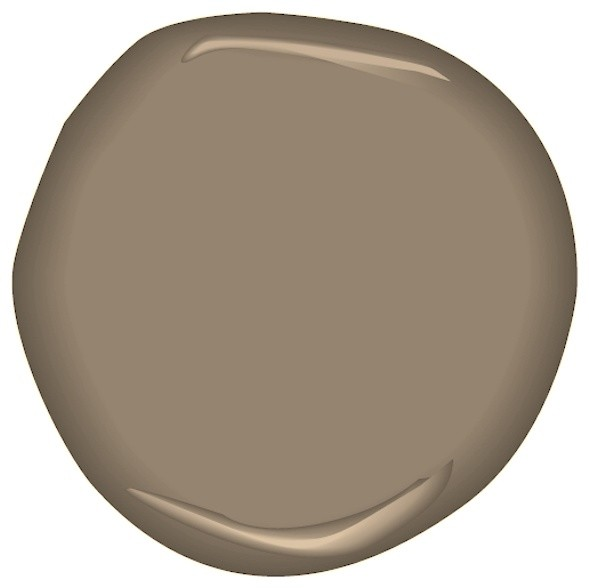 Taupe fedora csp 260 paint by benjamin moore for Sherwin williams virtual painter