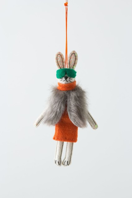 Aspen Bunny eclectic-holiday-decorations