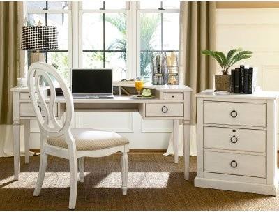 Summer Hill Desk - Cotton modern-desks-and-hutches