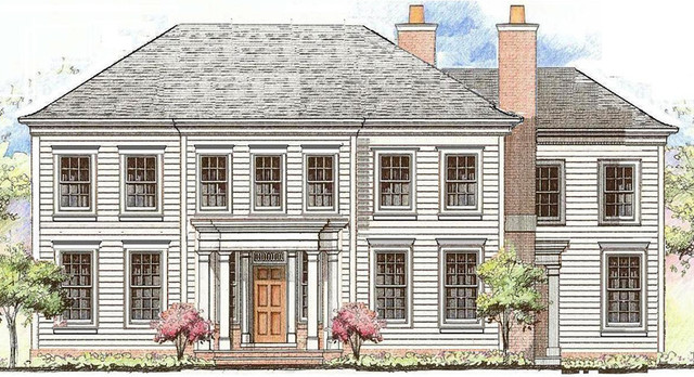 Renderings traditional-exterior-elevation