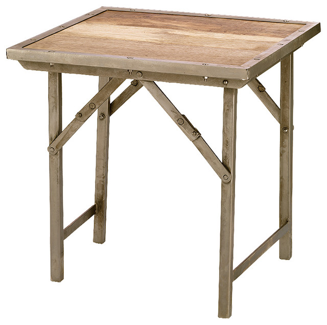 Folding Side Table : Tribeca Folding Side Table - Eclectic - Side Tables And End Tables ...