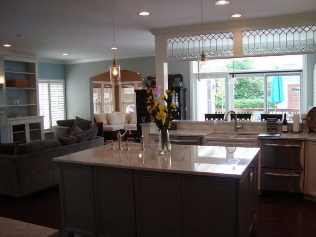 New Residence in Arlington Heights traditional-kitchen