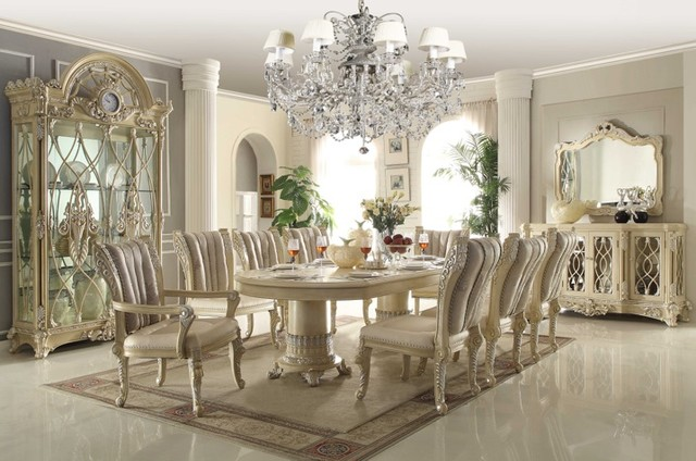 Formal dining room traditional dining sets new york for Formal dining room furniture
