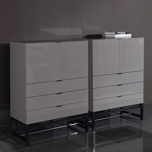 Minotti Harvey Living Cabinet - Modern - Storage Units And Cabinets - by Switch Modern