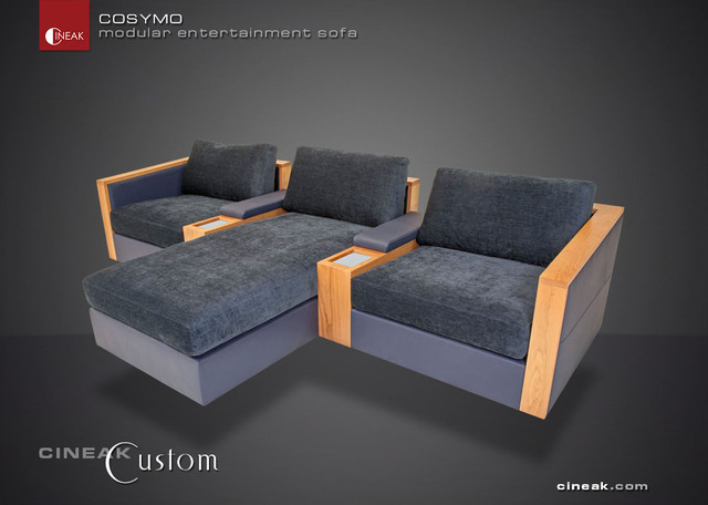 Latest Home Theater Seats by Cineak Luxury Seating sectional sofas