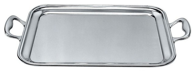 Alessi Rectangular Tray with Handles modern-serving-dishes-and-platters