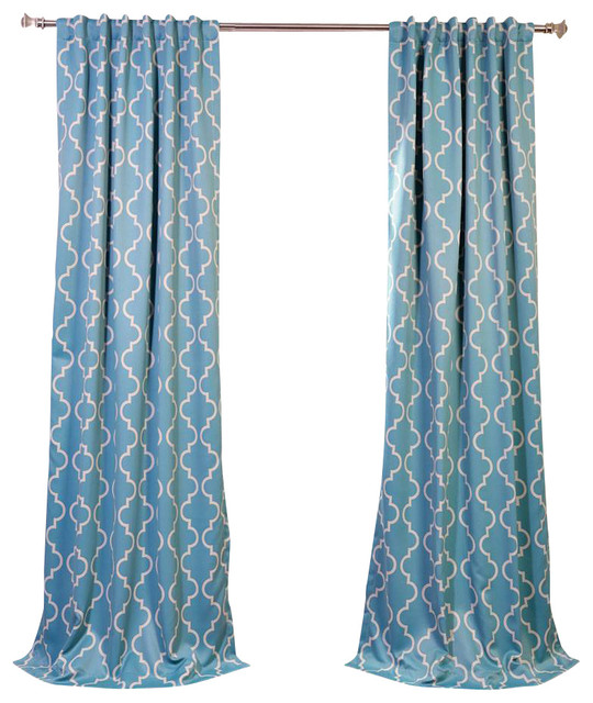 teal blackout curtain contemporary curtains by half price drapes