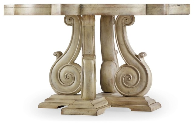 Pedestal Dining Table traditional-dining-tables
