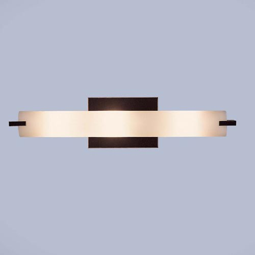 Bronze ADA Three-Light Bath Fixture - Contemporary - Bathroom Vanity Lighting - by Bellacor