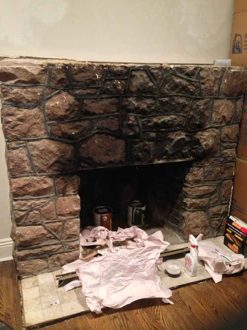 Fireplace Paint Or Not Paint