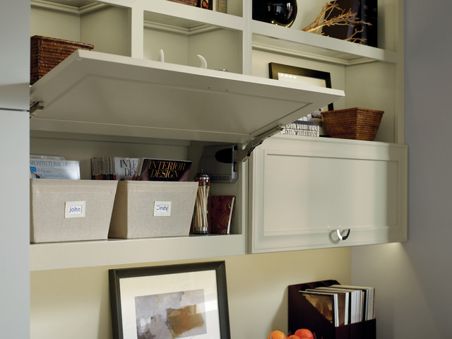 Dynasty Top Lift Hinge Wall Cabinet - Kitchen Cabinetry - other metro - by MasterBrand Cabinets ...