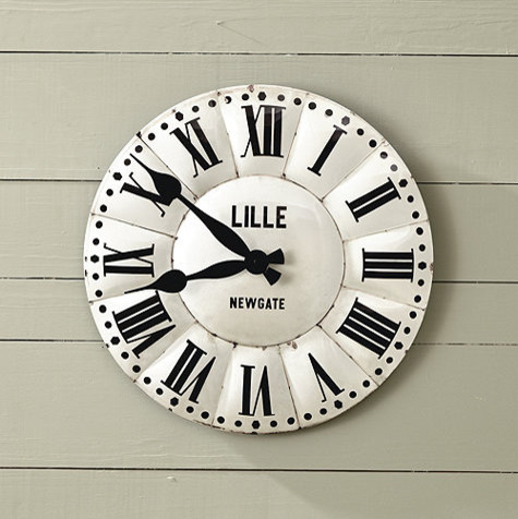 Lille Clock contemporary-clocks