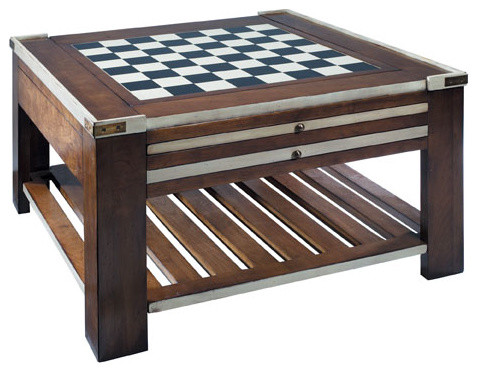 Game Table, Ivory contemporary-side-tables-and-end-tables