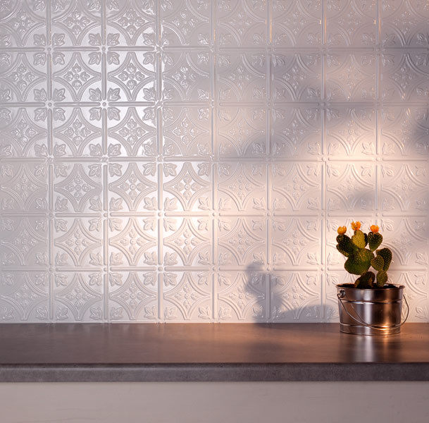 gallery for paintable wallpaper backsplash