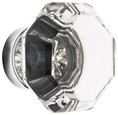 Old Town Faceted Glass Knob traditional knobs
