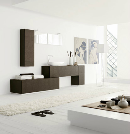 Line by Arcom Italy modern-bathroom-vanities-and-sink-consoles