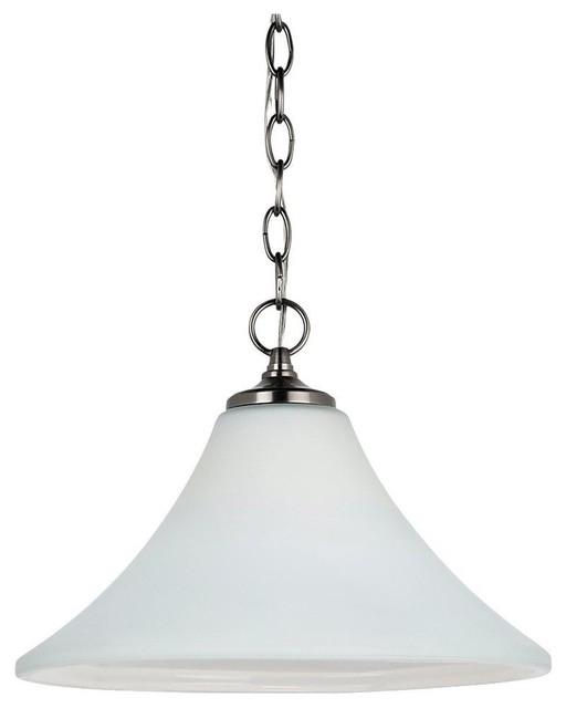 Unique Modern Pendant Lighting : Seagull montreal unique pendant light fixture in antique