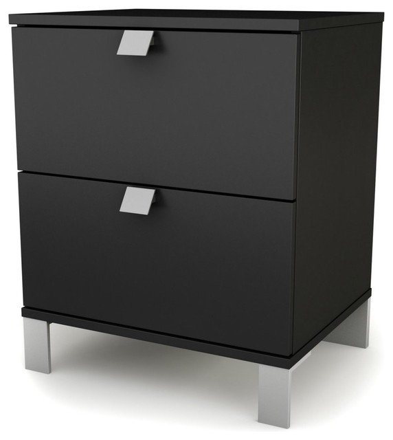 Spark 2 Drawer Nightstand modern-nightstands-and-bedside-tables