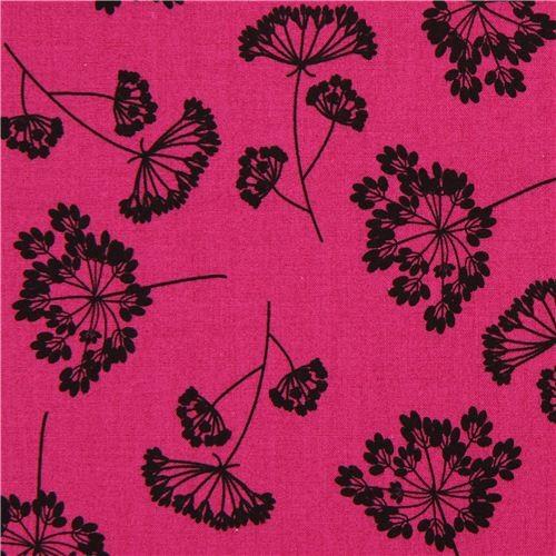 berry wild flower fabric by Robert Kaufman USA fabric