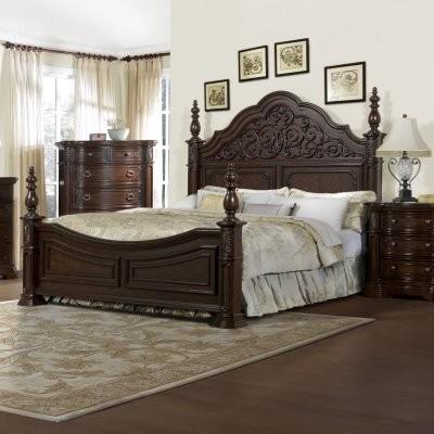 Cassara Poster Bed modern-beds
