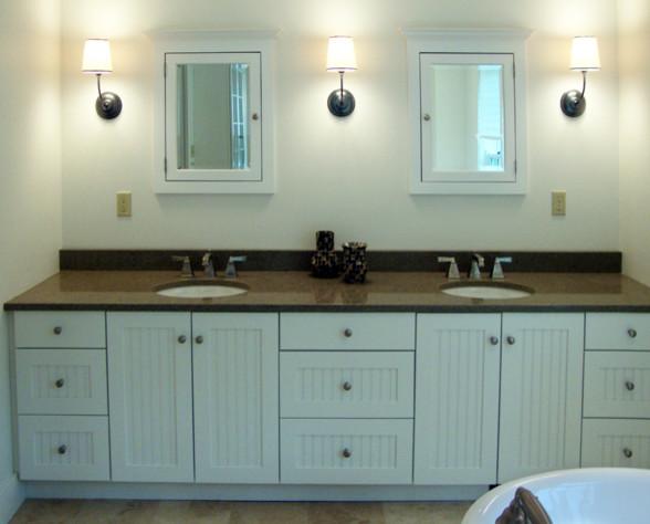 Country Farmhouse Master Bath traditional-bathroom