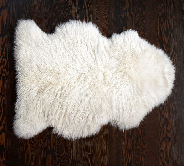 Sheepskin Rug contemporary rugs