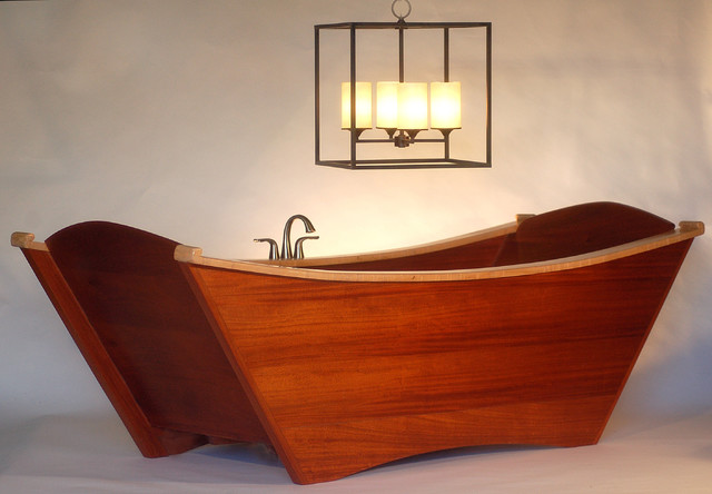 European Style Double Tub Eclectic Bathtubs Other