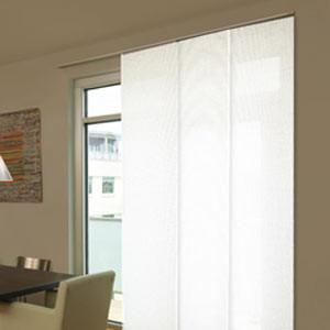 Levolor Panel Track Blinds: Designer Textures Room Darkening contemporary-vertical-blinds