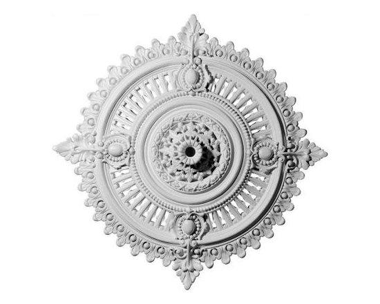 Ekena 29-1/8 in. Haylynn Ceiling Medallion-CM29HY at The Home Depot -