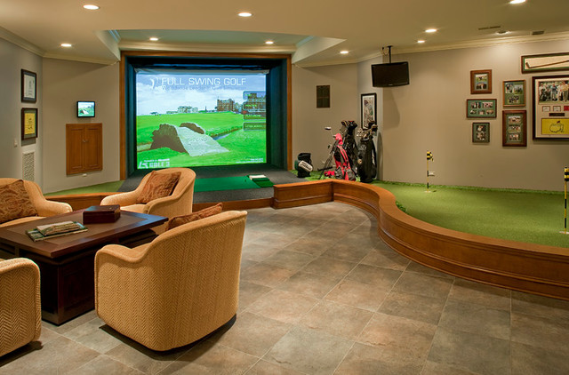 Residences in Naperville, IL traditional-basement