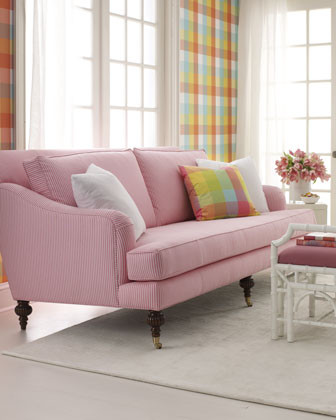 Lilly Pulitzer Home Sara Sofa traditional sofas