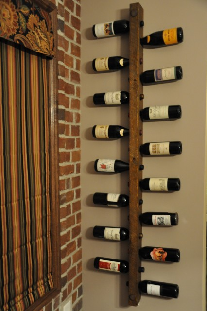 16 bottle tuscan wine rack wine racks minneapolis by vetrina del vino - Small space wine racks design ...