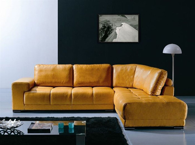 Advanced Adjustable Furniture Italian Leather Upholstery Modern Sectional Sofas Miami By