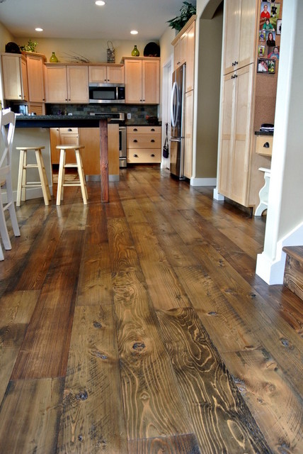 Douglas Fir Flooring Rustic Hardwood Flooring Other