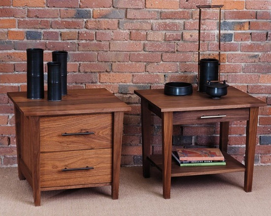 BERKELEY NIGHTSTANDS - The Berkeley collection has crisp, beautiful lines that are sure to please. With a broad top and narrowing footprint, the pieces in this collection are truly interesting. The berkeley style is right at home with styles from country to contemporary.