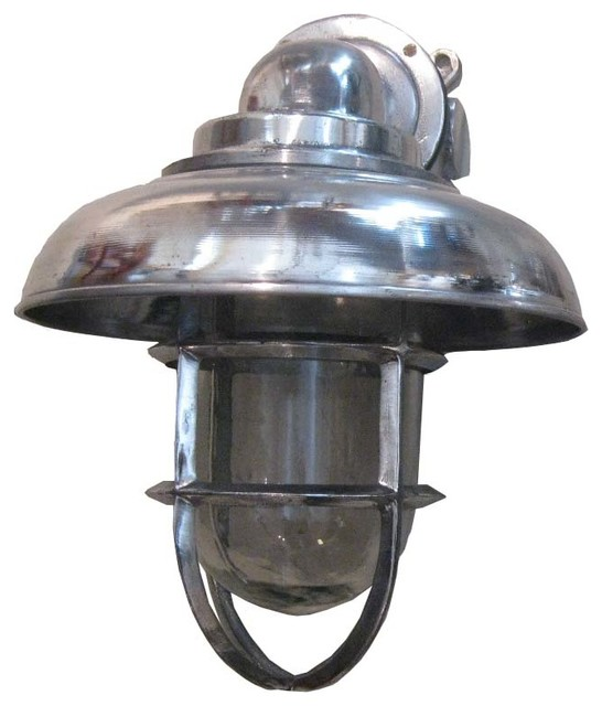 Aluminum Capped Pendant Light industrial-wall-lighting