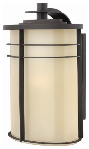 Ledgewood X-Large Outdoor Wall Lantern in Vintage Black modern-outdoor-wall-lights-and-sconces