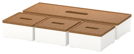 KVISSLE Box With Lid contemporary-desk-accessories