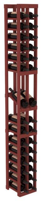 2 Column Display Row Wine Cellar Kit in Pine, Cherry contemporary-wine-racks