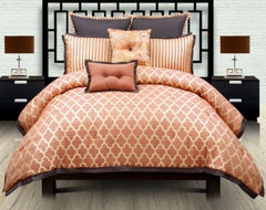 angelo:HOME Westgate Comforter Set contemporary bedding