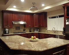 Maywood Residence traditional-kitchen