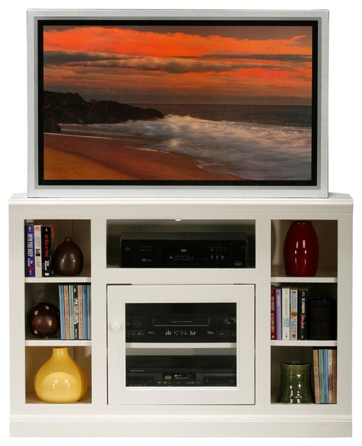 TV Stand (Soft White) contemporary-entertainment-centers-and-tv-stands