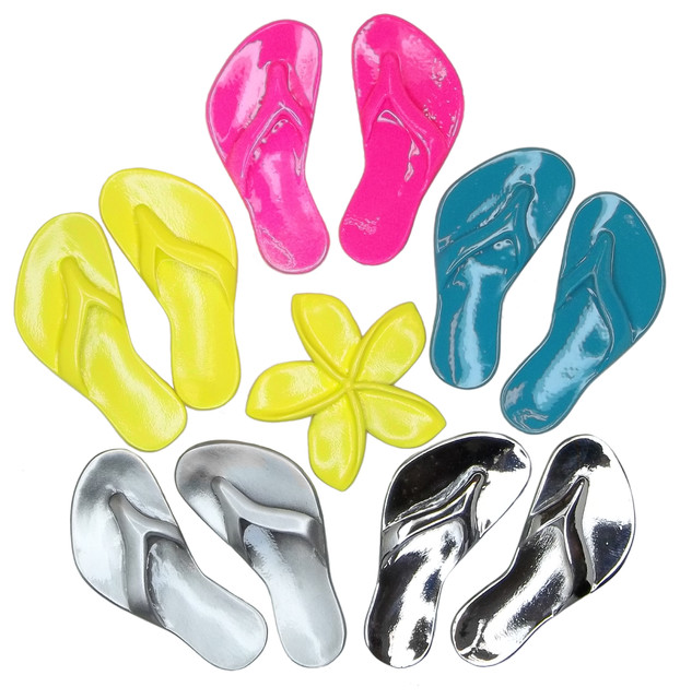 Flip Flops Drawer Knobs beach-style-hot-tub-and-pool-supplies