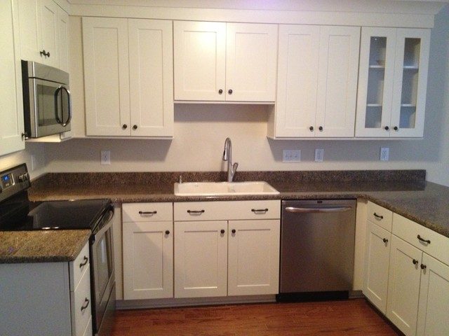 Shenandoah Cabinetry: Mission Maple - Transitional - charlotte - by Lowe's North Charlotte