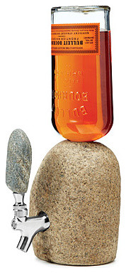 Stone Drink Dispenser eclectic-serveware