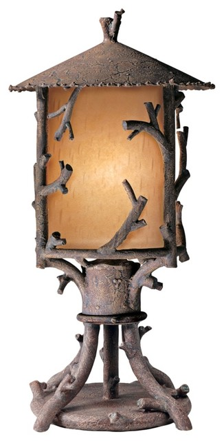 Cheyenne Collection Outdoor Pier Mount traditional-outdoor-lighting